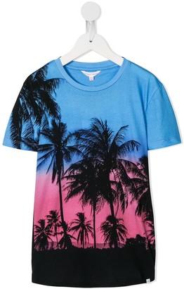 Orlebar Brown KIDS Tropical print T-shirt
