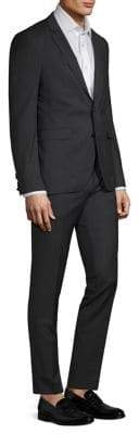 HUGO Classic-Fit Wool Pinstripe Suit