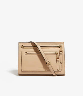 Karen Millen Leather Cross-Body Bag