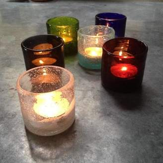 British Colour Standard Handmade Tea Light Set Of Six