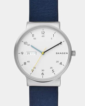 Skagen Ancher Blue Analogue Watch