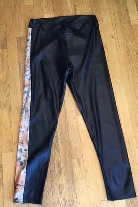 Volt Design Faux Leather Pants