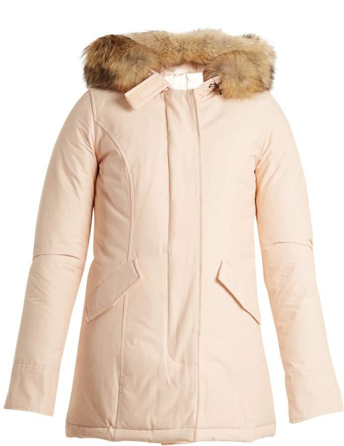 Woolrich Arctic fur-trimmed down parka