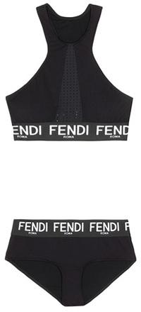 Fendi Logo bikini