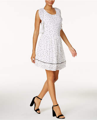 Maison Jules Printed Fit & Flare Dress, Only at Macy's $89.50 thestylecure.com