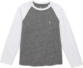 Psycho Bunny Salt & Pepper Baseball T-Shirt