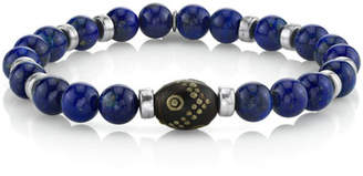Lapis Mr. Lowe Men's 8mm Lazuli Bracelet