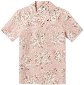 YMC Short Sleeve Palm Malick Shirt