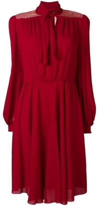 Giambattista Valli flared longsleeved dress