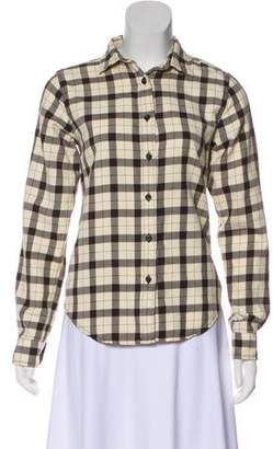 Filson Plaid Button-Up Top