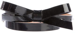 Kate SpadeKate Spade New York Patent Leather Bow Belt