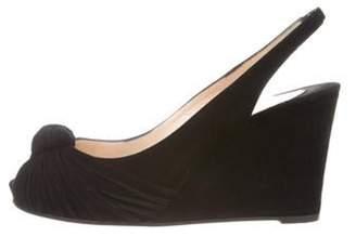 Christian Louboutin Miss Gres Zeppa 90 Sandals Black Miss Gres Zeppa 90 Sandals