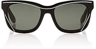 Givenchy Women's 7028/S Sunglasses - Black, Gray green