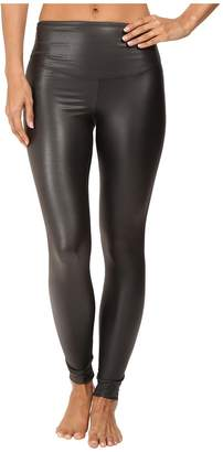 Yummie by Heather Thomson Tony Faux Leather Leggings Women's Casual Pants