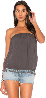 LA Made Colbie Tube Top in Charcoal $74 thestylecure.com