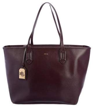 Lauren Ralph Lauren Classic Leather Tote