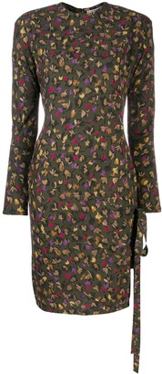 Versace Pre-Owned fall printed dress