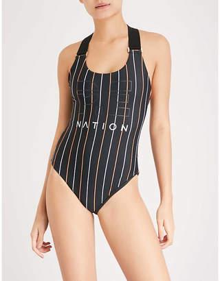 P.E Nation West Port swimsuit