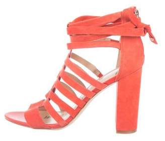 Sam Edelman Suede Caged Sandals