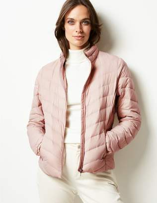 Marks and Spencer Lightweight Down & Feather Jacket with Stormwear