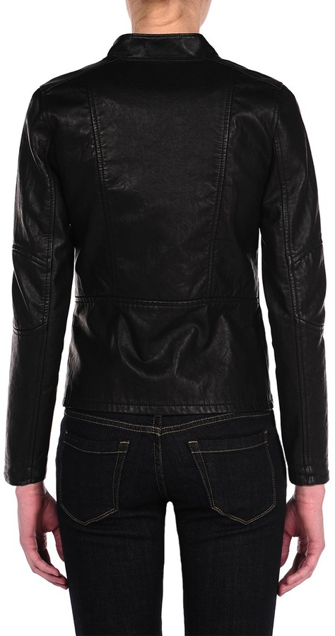 Blank NYC Vegan Leather Fitted Jacket