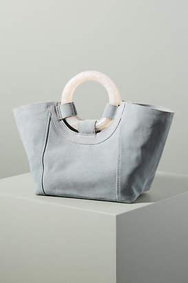Anthropologie Ursula Lucite-Handled Tote Bag