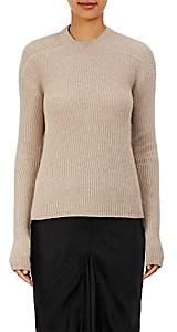 Rick Owens Women's Ribbed Sweater - Light Gray