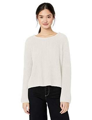 Roxy Junior's Boardwalk Show Cropped Bell Sleeve Sweater,XS