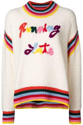 Mira Mikati Running Late jumper