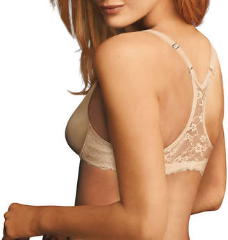 Maidenform One Fab Fit Lace Underwire Racerback Plunge Full Coverage Bra-07112