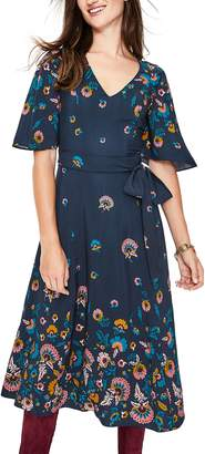 Boden Emilie Floral Midi Dress