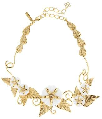 Oscar de la Renta Morning Glory Necklace