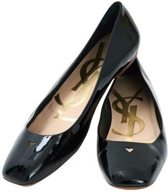 Saint Laurent Patent Leather Ballet Flats