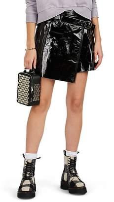 Ksubi Women's Dreams Patent Leather Miniskirt