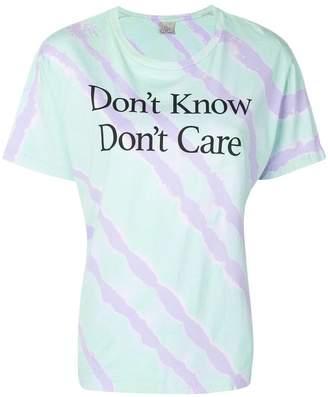 Ashley Williams tie dye T-shirt