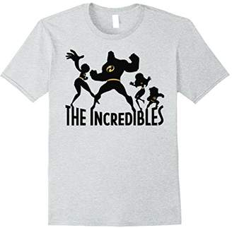 Disney The Incibles Family Silhouette Graphic T-Shirt