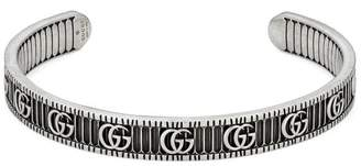 Gucci Bracelet with Double G in silver