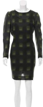 Marni Plaid Shift Dress