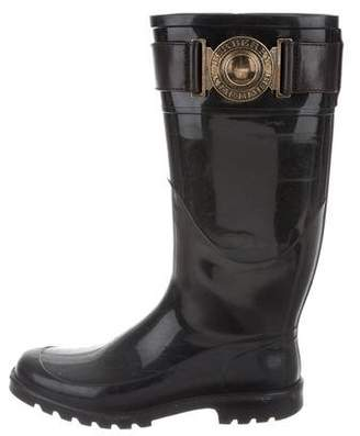 Burberry Rubber Knee-High Rain Boots