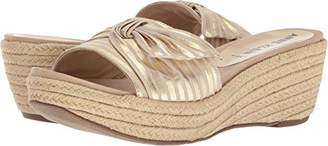 Anne Klein Women's Zandal Wedge Sandal Slide