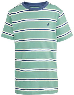 Boys' Short Sleeve Stripe T-Shirt, Green