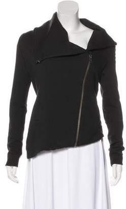 Helmut Lang Asymmetrical Long Sleeve Jacket