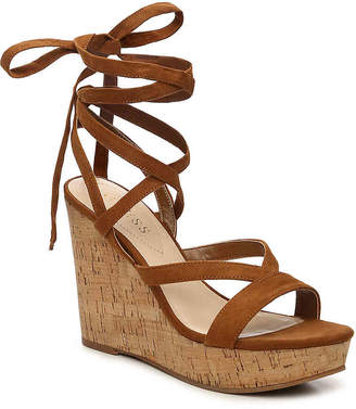 GUESS Treacy Wedge Sandal - Women's