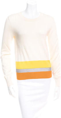 Boy. by Band of Outsiders Metallic Striped Sweater w/ Tags $125 thestylecure.com
