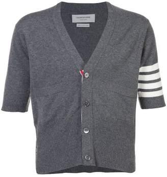 b8de35b4c667 Thom Browne cashmere short sleeve v-neck cardigan