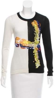Prabal Gurung Cashmere Embellished Sweater