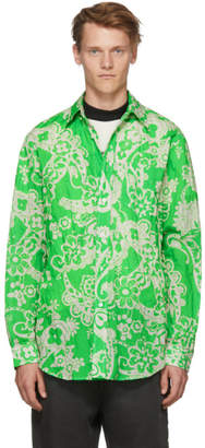 Hope Green Paisley Super Shirt