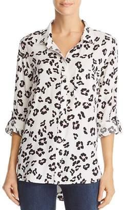 0418163d682982 Velvet Heart Leopard Print Button Down Top