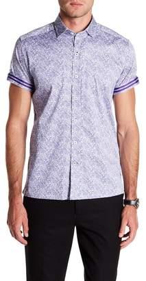 Robert Graham Thad Paisley Printed Tailored Fit Shirt