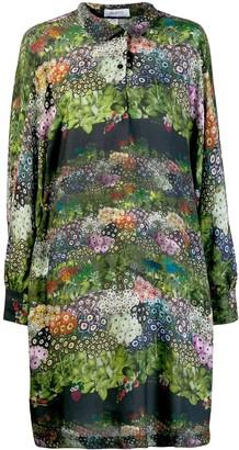 AILANTO floral shirt dress
